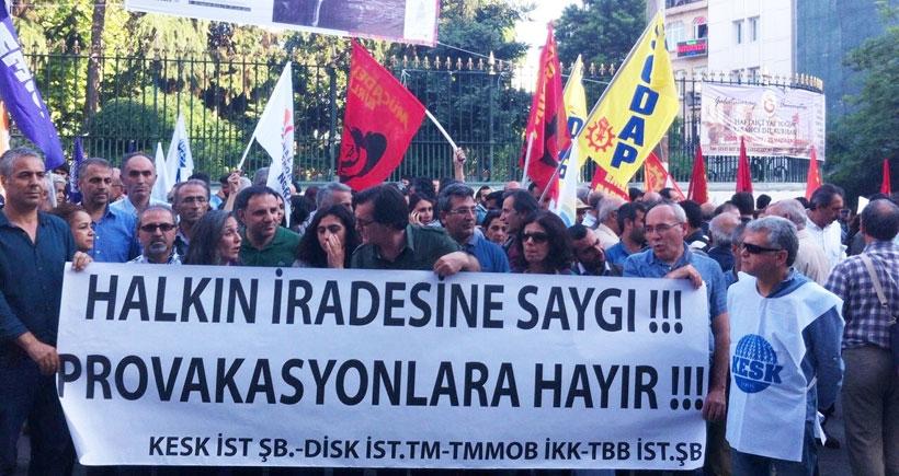 Diyarbakır'daki provokasyonlara İstanbul'dan 'dur' çağrısı
