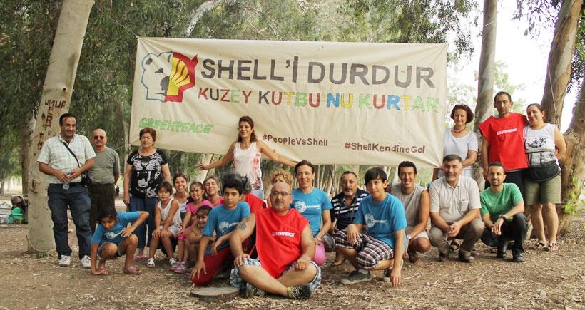Adana'da kuzey kutbundaki buzullar için eylem