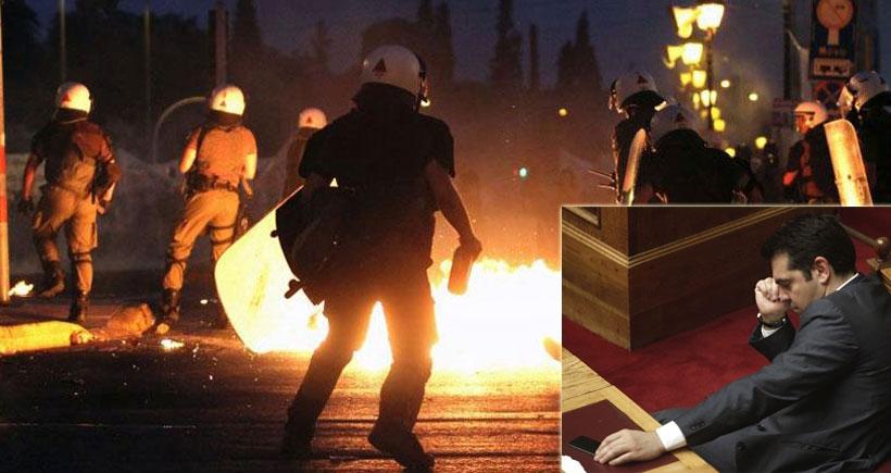 Yunanistan'ın zor gecesinin ayrıntıları