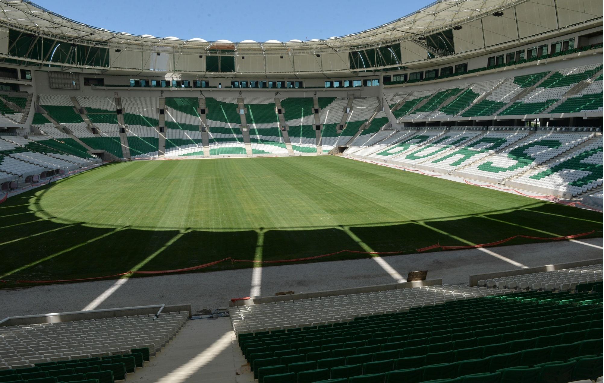 Timsah Arena, Ağustos ayında açılacak