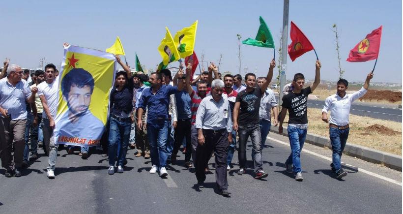 YPG'li Koyuncu son yolculuğuna uğurlandı
