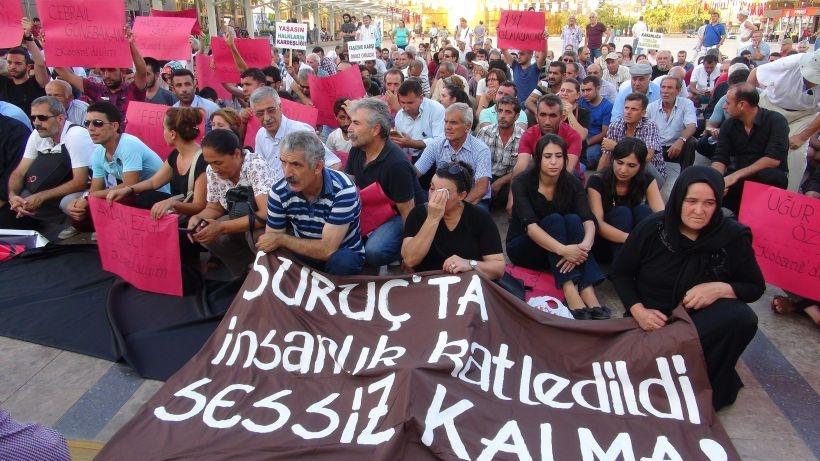 Barış için büyük yürüyüş: 'AKP savaş istiyor, biz barışı savunacağız'