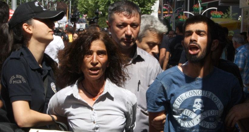 Ankara'da Günay Özarslan için eylem yapan 11 kişi gözaltına alındı