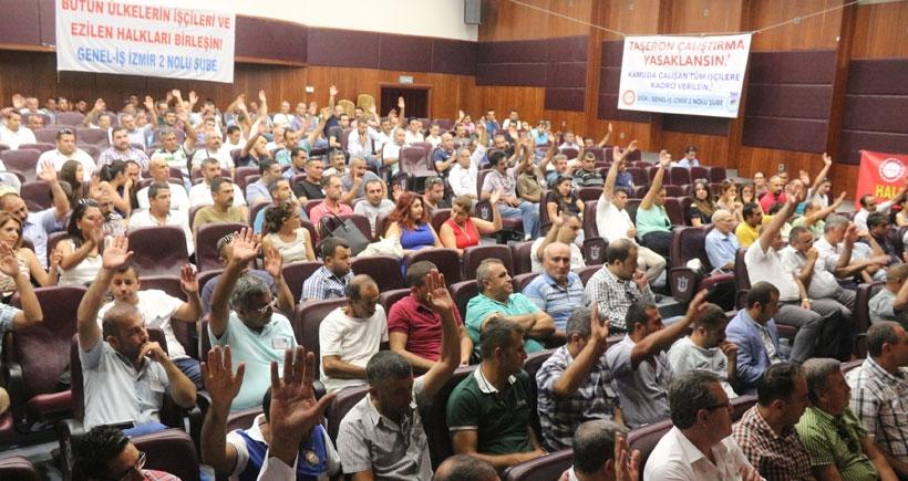 Genel-İş Şube Kongresi'nden çağrı: Barış kimseyi küçültmez herkesi büyütür