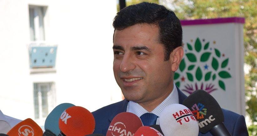 Demirtaş: Operasyonların amacı erken seçimlerde HDP'yi vurmaktır