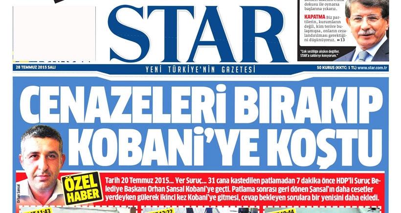 DBP: Star Gazetesi haberleriyle algı yaratmaya çalışıyor