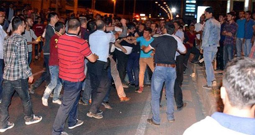 Erzurum'da linç edilmek istenen Kürt işçiler ilçeden çıkarıldı