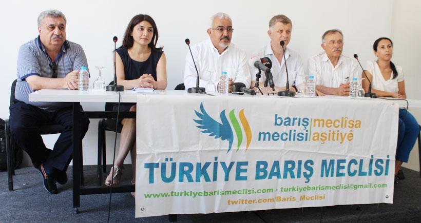 Barış Meclisi: Taraflar derhal ellerini tetikten çekmeli, çözüm müzakerede