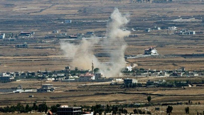 İsrail İHA'ları Suriye ve Lübnan'a saldırdı