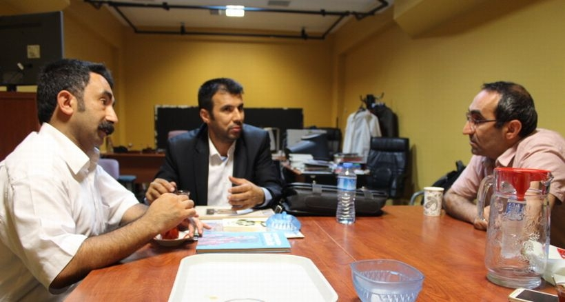 Gezi gazilerinden Evrensel'e destek ziyareti