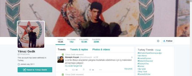 HDP sosyal medya gönüllülerinden Yılmaz Gedik gözaltında