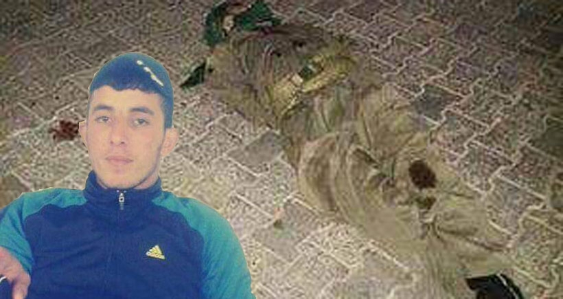 Cizre'de polisin vurduğu genç, el ve ayakları bağlanarak ölüme terk edildi