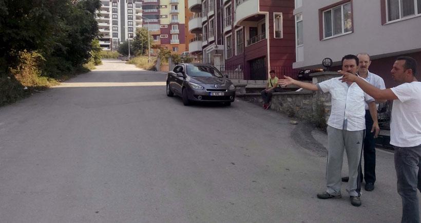 Belediye asfalt parasını vatandaşa yıktı