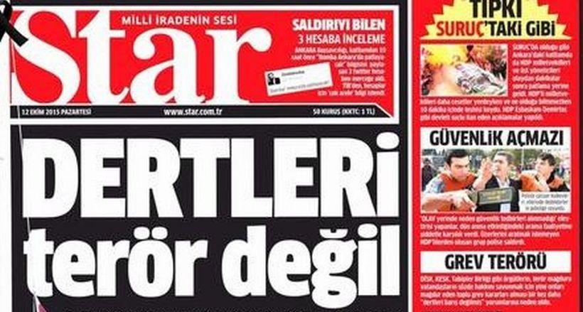AKP gazeteleri tüm çirkinliğiyle bayilerde!