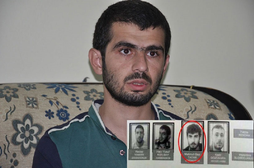 Canlı bomba listesindeki Tatar: Sınırdan IŞİD için açılan yoldan Suriye'ye geçtik
