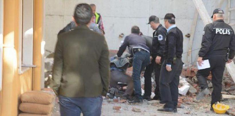 Sinop'ta istinat duvarı çöktü: 1 işçi yaşamını yitirdi