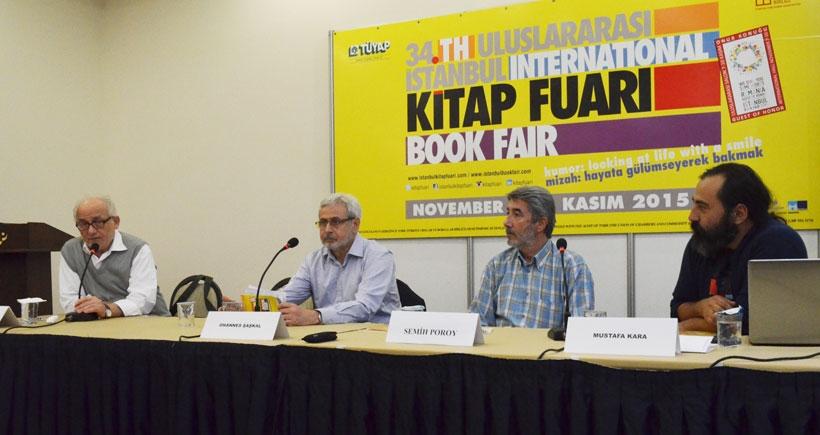 İstanbul Kitap Fuarı'nda Tan Oral konuşuldu:  Umut ve beklentilere tercümanlık ediyor