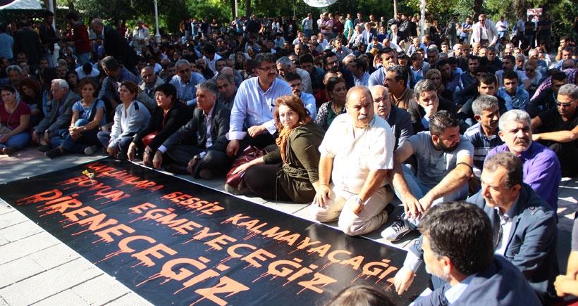 Antep'te katliamı protesto edenlere soruşturma: Failler değil, barış isteyenler sorgulanıyor