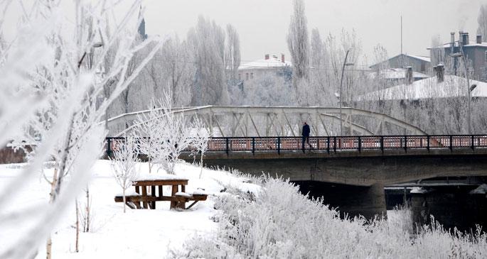 Ardahan'da 'Sibirya soğukları'
