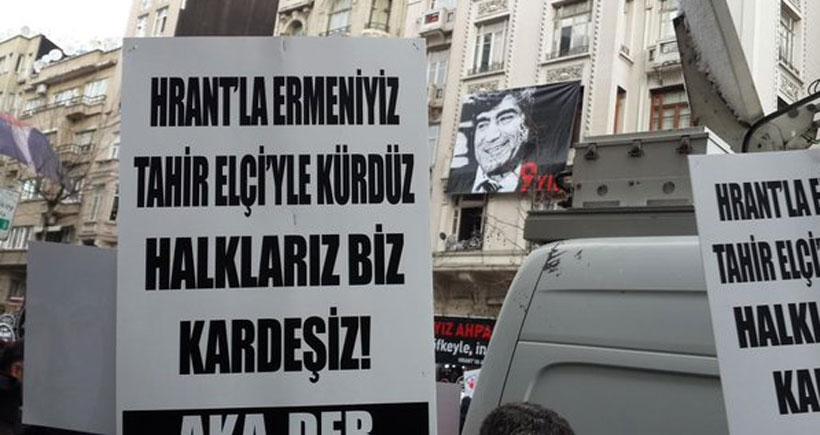 Dokuz yılda Hrant Dink'ten Tahir Elçi'ye geldik