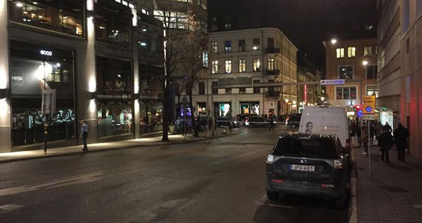 İsveç'in başkenti Stockholm'de şiddetli patlama