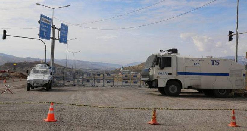 Şırnak-Cizre yolu kapatıldı