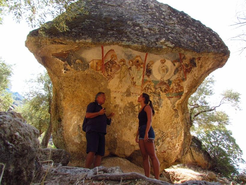 Eksik ama güzel şeyler de oluyor: Kaya resimleri korumaya alındı