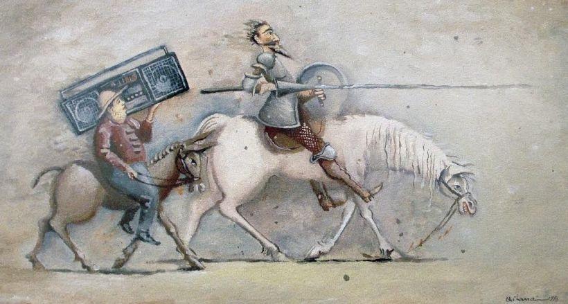 Cervantes'in ölümünün 400. yılında Don Kişot'un izleri Ankara'da