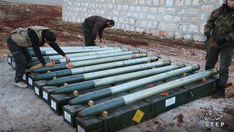 Halep'te cihatçılara yeni füzeler ulaştırıldı