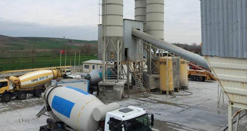 Edirne'de bir işçi beton makinesinin içine düştü