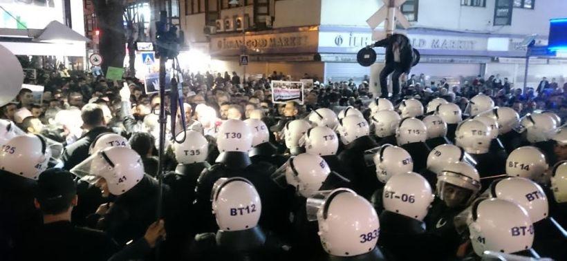 Kocaeli'de Cerattepe eylemine polis saldırdı