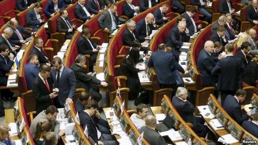 Ukrayna'da koalisyon hükümeti düştü