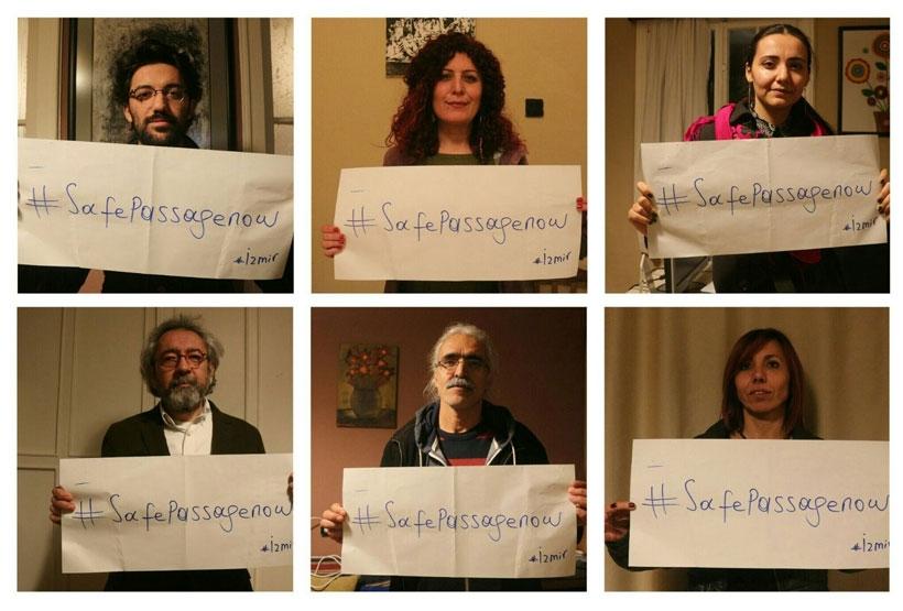 23 ülkede mülteci hakları için eylem