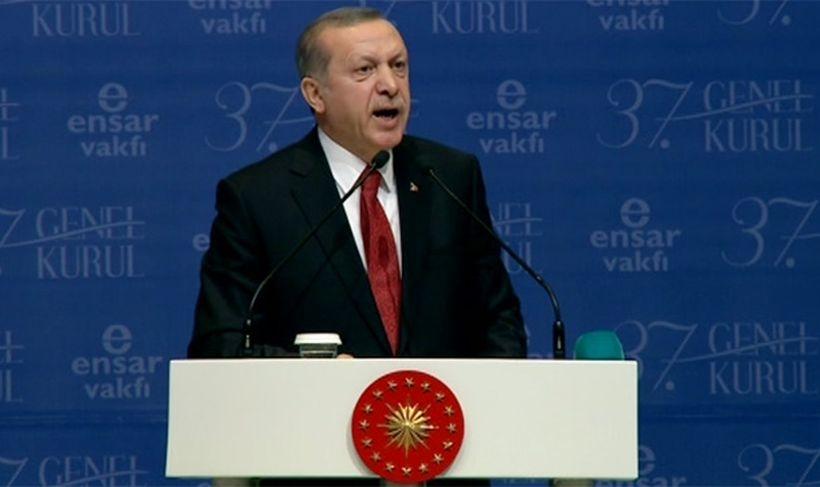 Erdoğan: Cerattepe'dekiler yavru Gezicilerdir