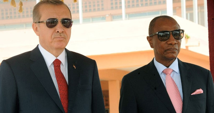 Gine'den Erdoğan'a mesaj var: Bize saray değil demokrasi lazım