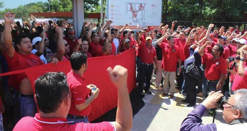3500 işçi greve çıktı: Metal fırtına Meksika'da
