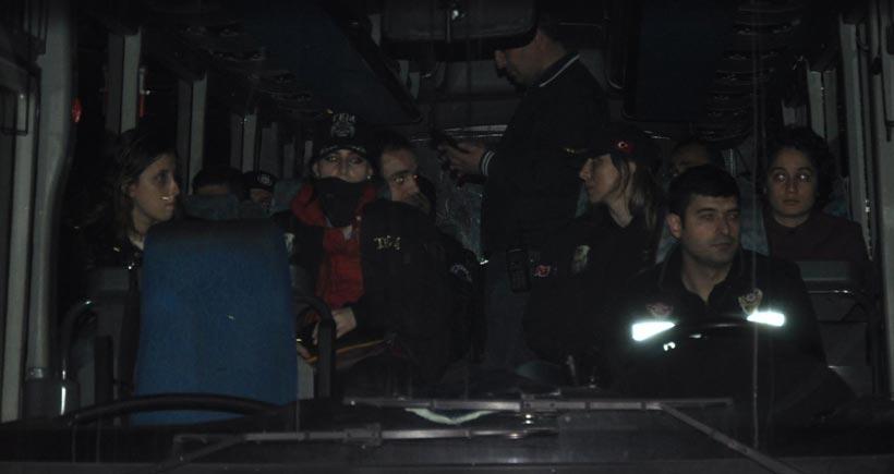 Sivas'ta 11 öğrenci tutuklandı