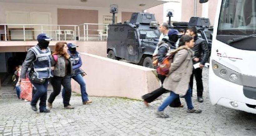 HDP İzmir Eş Başkanı Uğur ve PM Üyesi Aykan dahil 10 kişi tutuklandı