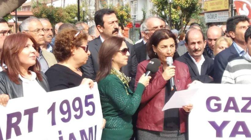 Gazi Katliamı, Mersin'de lanetlendi, barış mesajı verildi