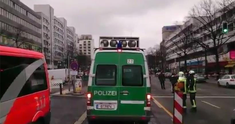 Berlin'de bir araç patladı: 1 kişi öldü