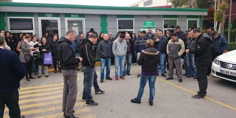 Schneider işçileri bombalı saldırıyı kınadı