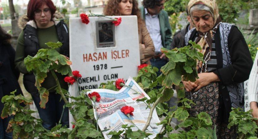 Hasan İşler ve Volkan Eryiğit mezarları başında anıldı