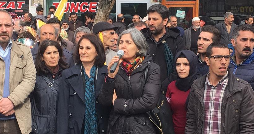 Elazığ Newrozu Selma Gürkan: Karanlıktan tek çıkış barış, kardeşlik ve özgürlüklerdir