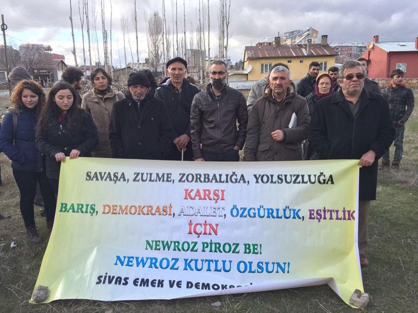 Sivas'ta Newroz yasaklarla kutlandı