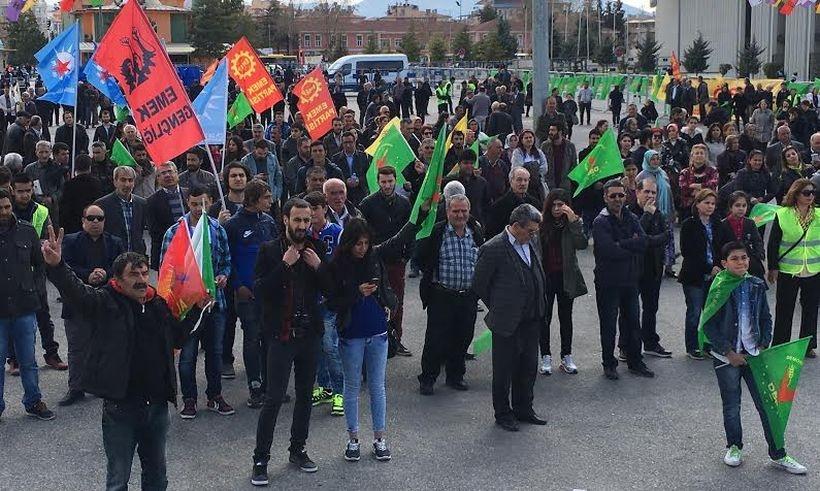 Malatya Newrozu'nda  barış mesajı
