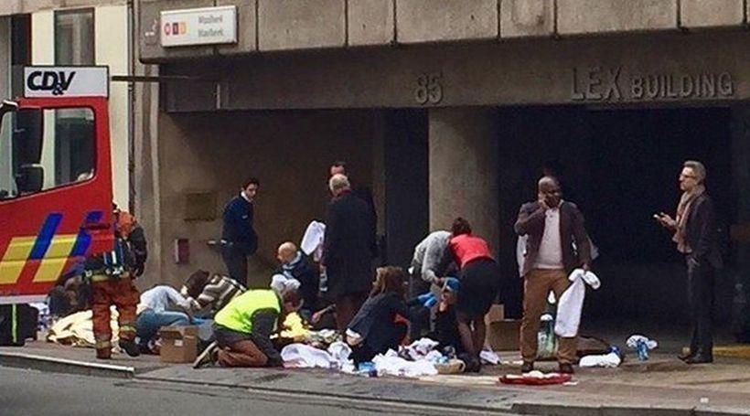 Saldırının gerçekleştiği Brüksel'e telefon ve internet trafiği iki gün ücretsiz