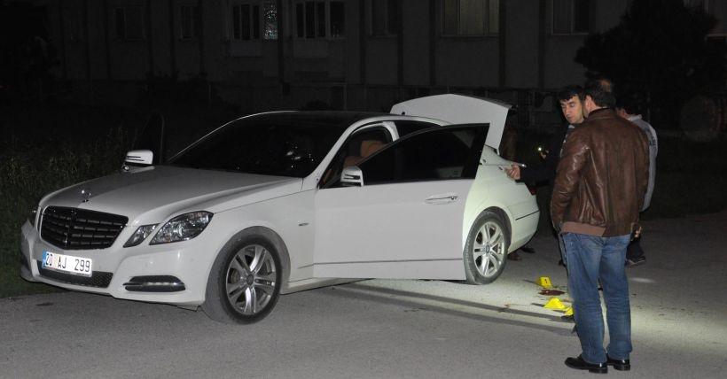 Denizli'de bar işletmecisi sokak ortasında vurularak öldürüldü