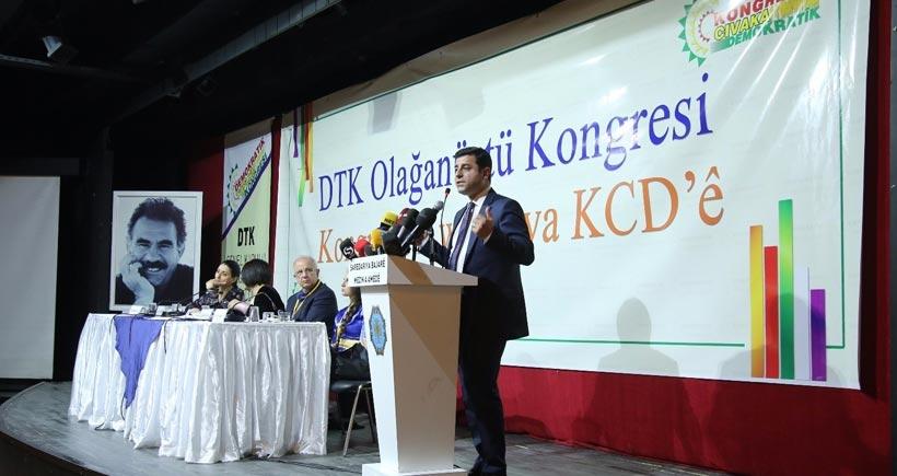 DTK Olağanüstü Genel Kurulunda 'müzakereye dönüş' çağrısı
