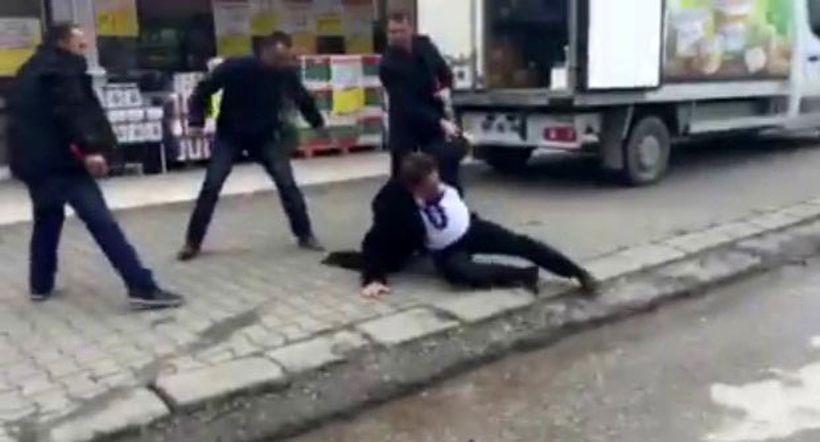 Düzce'de CHP il başkanına 'Sen vatan hainisin' diyerek saldırdılar