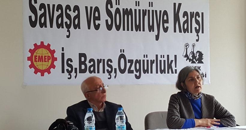Samsun'da halk toplantısında konuşan Gürkan'dan en geniş cephede birleşme çağrısı